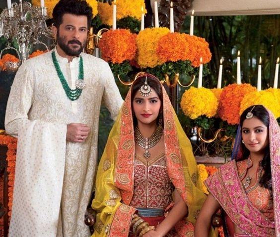 Sonam Kapoor-Anil Kapoor and Rhea Kapoor Photoshoot for Hello Magazine November 2015