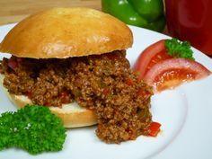 Sloppy Joes – Amerikanische Hackfleisch-Burger