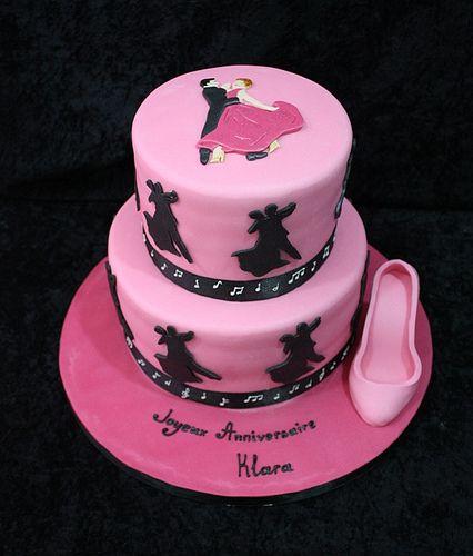Ballroom Dancer Cake Decorations