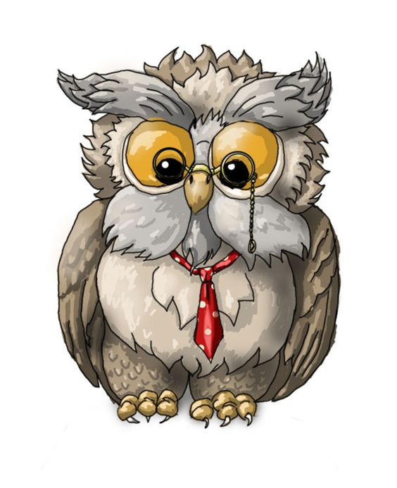 owl professor clipart - photo #45