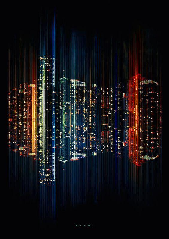 Люминесцентные цифровые Skylines