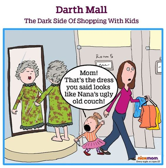 Darth Mall: The Dark Side Of Shopping With Kids (Episode II) #StarWars