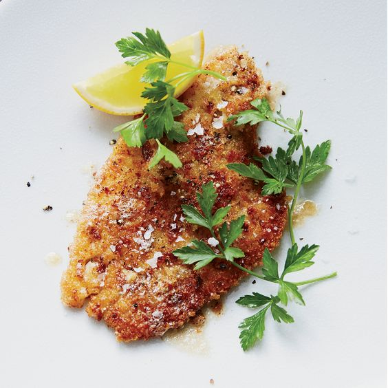This easy fried fish recipe is from chef Jonathan Waxman. What could be better than breaded flounder, fried until crispy and drizzled with a lemon-butter sauce?