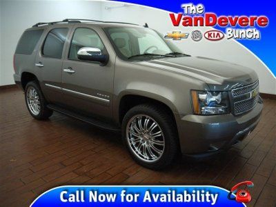 2011 Chevrolet Tahoe 4WD 1500 LTZ at The VanDevere Bunch in Akron Ohio.