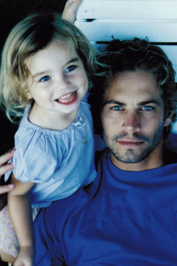 Pin for Later: See All of Meadow Walker's Throwback Photos With Her Dad, Paul