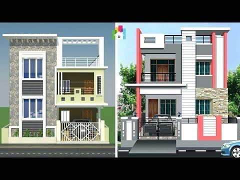 Modern Two Floor House Elevation Designs Two Storey Homes 3d Front Views Youtube Cool House Designs Storey Homes House Elevation