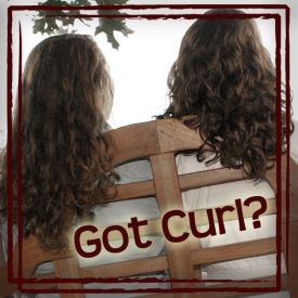 DIY hair products for girls with curly hair.