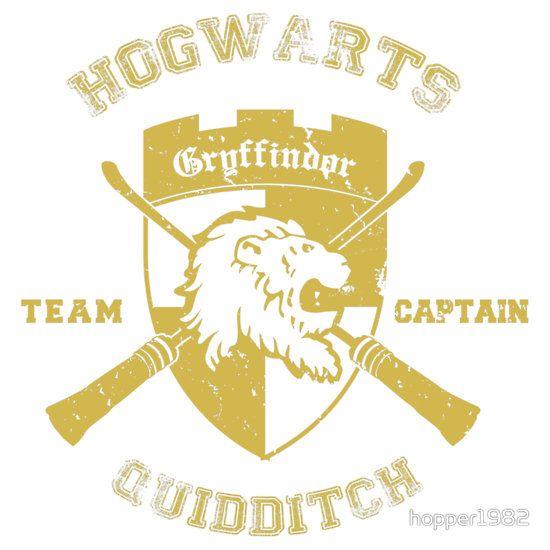Gryffindor quidditch logo gryffindor crest quidditch team captain