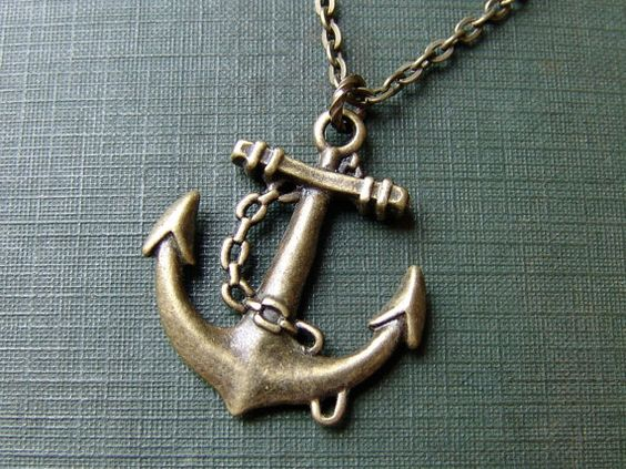 Anchor necklace from Etsy - $13 (plus $2 for shipping)
