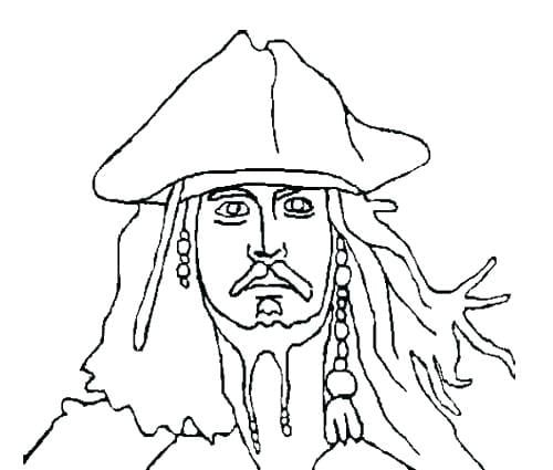 Jack Sparrow Colouring Pages Pirate Art Colouring Pages Jack Sparrow