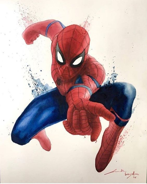 Man I am really starting to hate those blue bands all over movie Spider-Man. They make no design sense and stupid. Well I guess they mostly got it right.