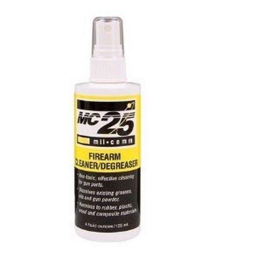 Firearm Cleaner Degreaser Mil-comm Mc25 Gun Spray Lubrication