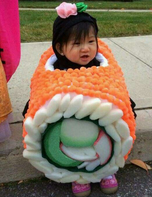 The cutest sushi you'll ever see lol