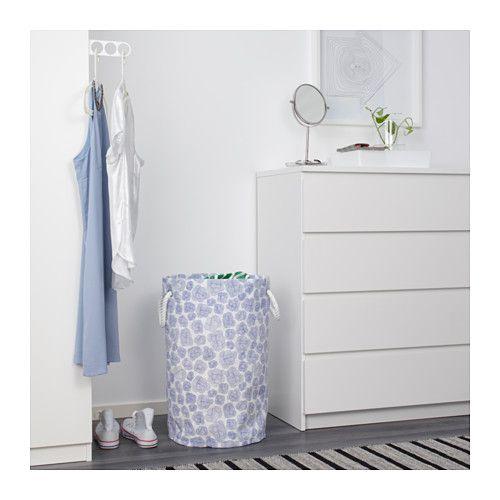 E10 IKEA KLUNKA laundry bin Sturdy handles make this laundry basket easy to carry.