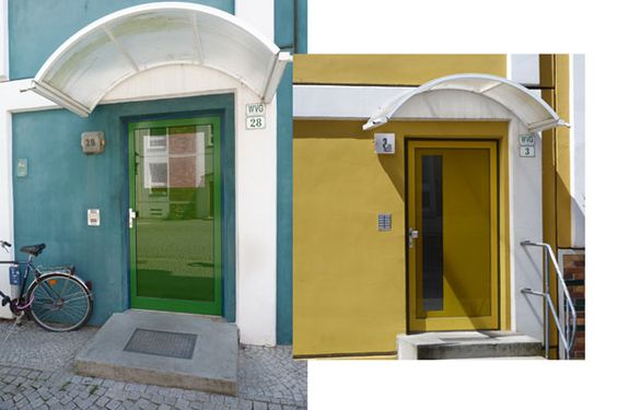 Doors in Greifswald!