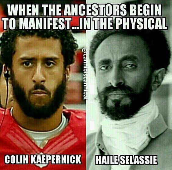Ancestors manifesting through us. #SpiritsDontDie #YouGoneLearnToday