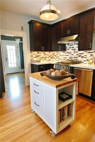 Small Kitchen Renovations Rolling Kitchen Island And
