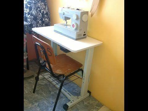 Faca Voce Mesmo Montando A Mesa Para Maquina De Costura