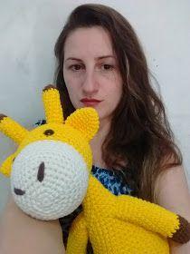 Naninha Girafa amigurumi (crochê)   Naninha, Fazer croche, Girafa   280x210