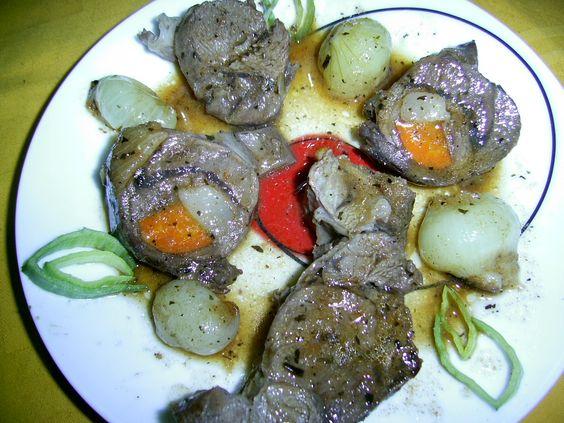Cerb cu legume