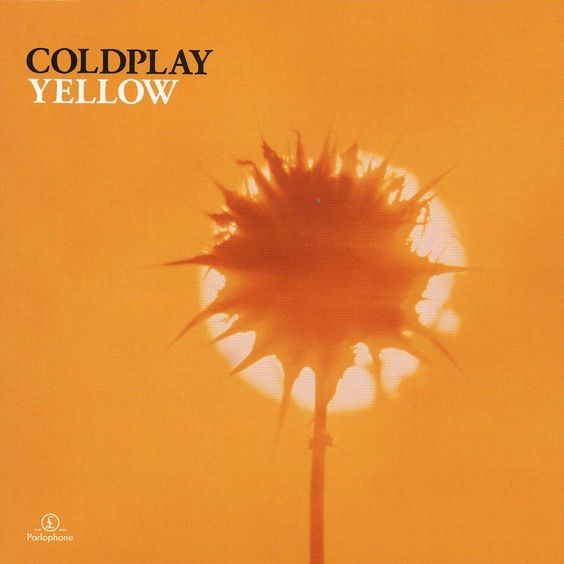 Coldplay – Yellow (single cover art)