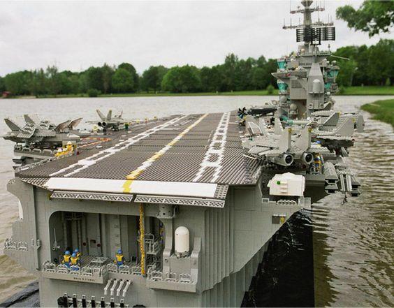 #Lego #aircraftCarrier