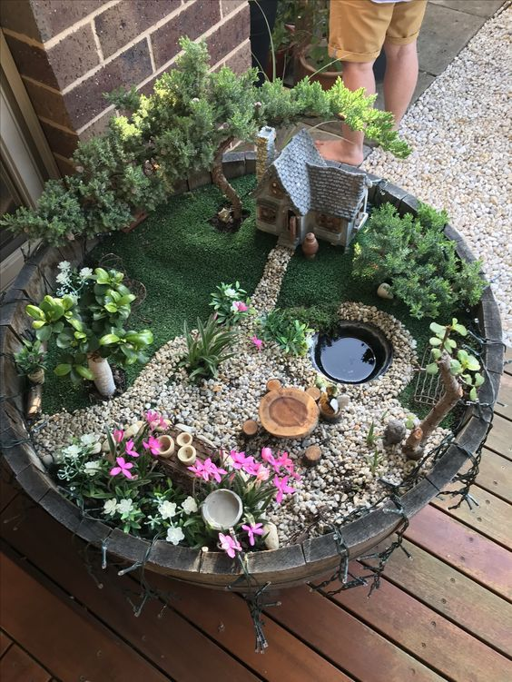 62 Diy Miniature Fairy Garden Ideas To Bring Magic Into Your Home Page 22 Of 62 Soopush Indoor Fairy Gardens Fairy Garden Plants Fairy Garden Designs