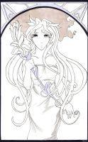 Lainey--Mucha Style by azarath