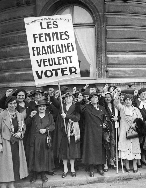 Droit de vote des femmes, 70 ans déjà