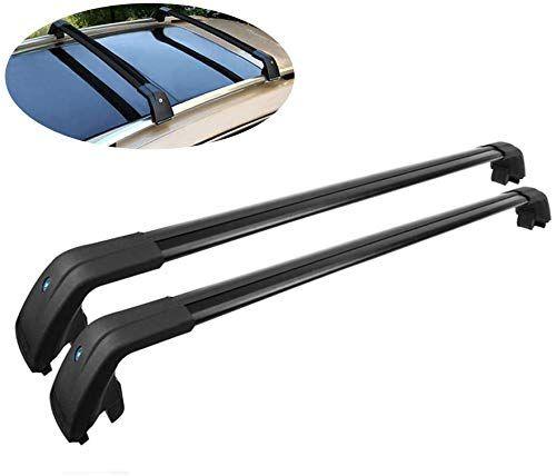 New Tohuu Adjustable Aluminum 44 5 Roof Rack Cross Bar Luggage Cargo Rack Rails Carrier Set Lock Kia Sorento 2014 2019 Black Online Shopping Roof Rack Kia Sorento Cargo Rack