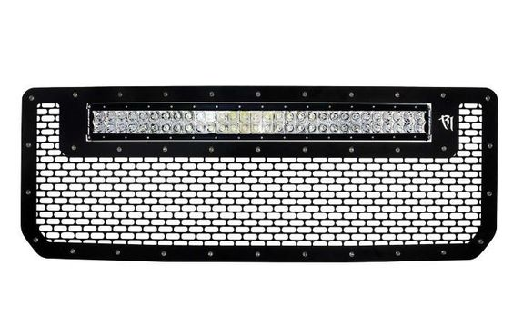 "Rigid Rigid 2015 GMC 2500/3500 Grille w/30"" RDS LED Light bar [41584]"