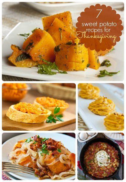 Thanksgiving Food Ideas - 7 Unique Sweet Potato Recipes