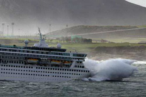 Cruise Ship In Rough Seas  Galleryhip  The Hippest