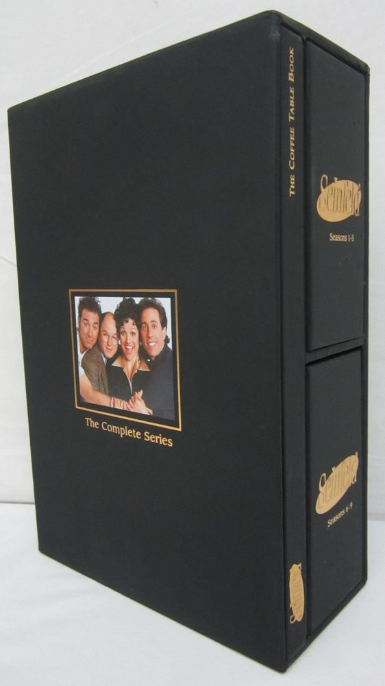 Seinfeld The Complete Series Box Set DVD 2007 33 Disc Coffee Table