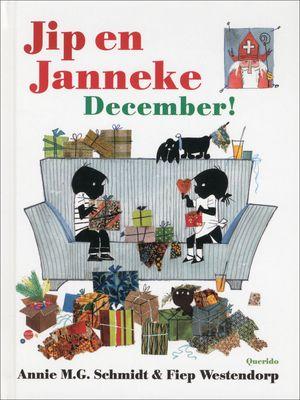 Jip en Janneke zingen sinterklaasliedjes, zetten hun schoen, versieren de #kerstboom en kijken naar het vuurwerk op #oudejaarsavond. Janneke breit een sjaal voor de #Sint en Jip schrijft een sinterklaasgedicht, ze vinden hun eigen kerstboom in de tuin van de buurman, en ze krijgen cadeautjes.