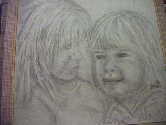Portrait for a friend- my first duo portrait