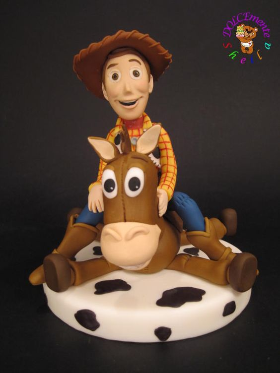 How To Make A Woody Cake Topper
