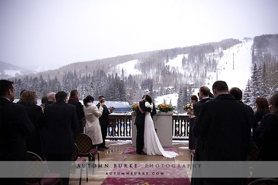 Balcony Off The Great Room At Arrabelle Vail Wedding Colorado
