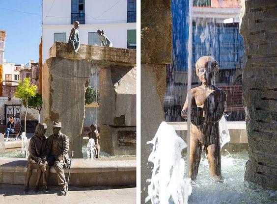 Fontaine de Lanjaron, Alpujarras