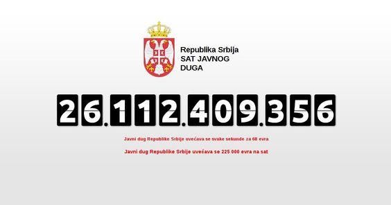 После британског референдума јавни дуг Србије порастао за 228 милиона евра  У ПРЕТХОДНА два дана, као директна последица одлуке референдума у Великој Британији, јавни дуг Србије порастао је за 228 милиона евра због јачања долара у односу на евро, преноси дневни ли�