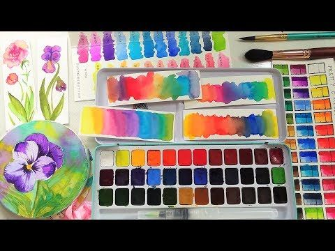 The Best Watercolors 20 Can Buy Pretty Excellent Watercolor