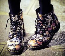 Combat boots. Yes.