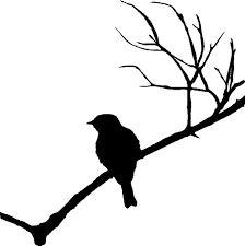 Image result for birds on branch stencil