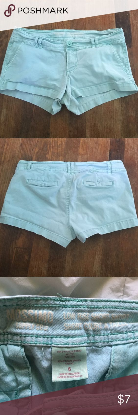 mint shorts size 6, gently used but no stains, from target Shorts