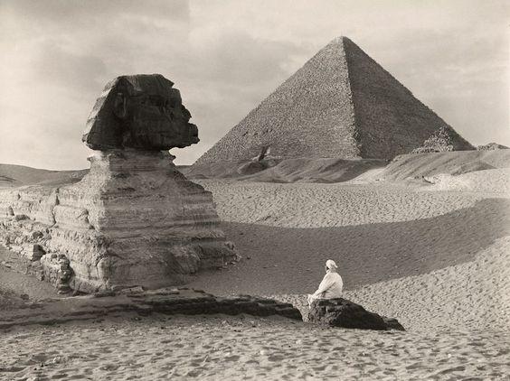 Grande Esfinge, no Egito  Fotografia por Donald McLeish:
