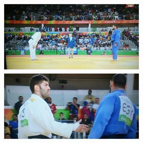 An Egyptian Olympic judoka was booed by a Rio audience when he refused to shake…
