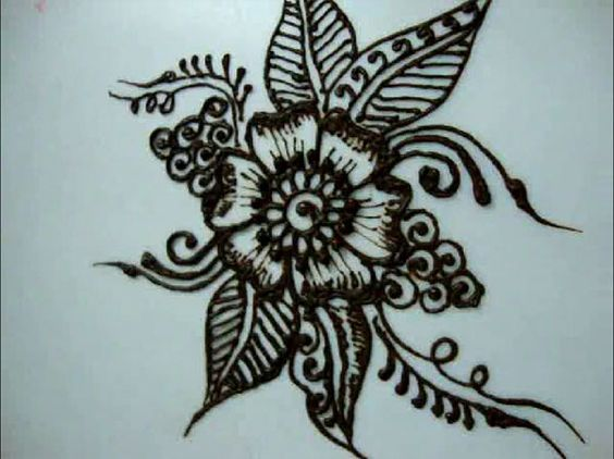 Tutorials on how to draw flower designs for beginners for Designs for drawing easy