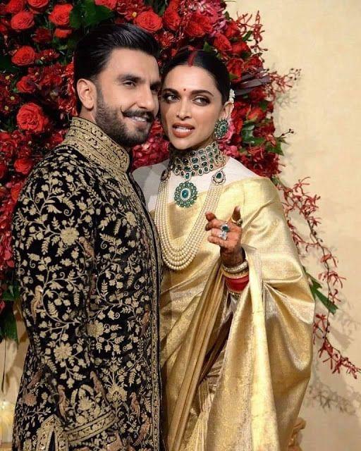12 Stunning Photographs Of Ranveer Singh And Deepika Padukone Wedding Reception Mehndi Design Fashion Bea Ranveer Singh Deepika Padukone Fashion Beauty