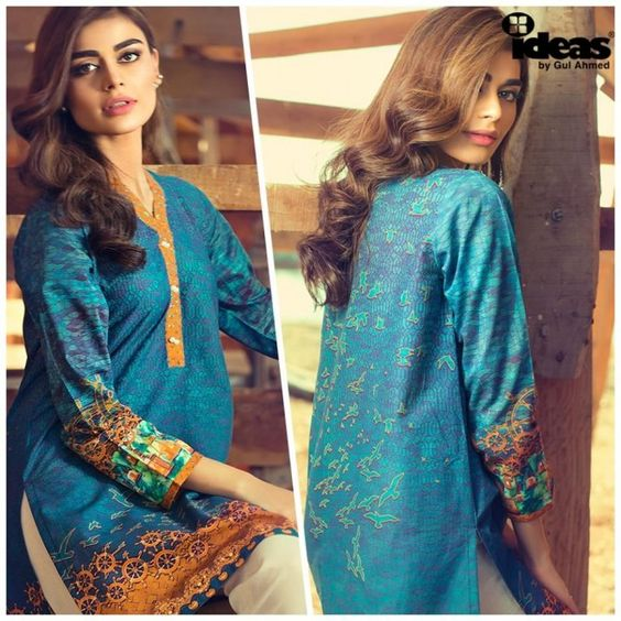 Gul Ahmed Fashion Ideas Summer Collection 2016 is the coolest name in your outfits who is getting cool as the summer is on its higher temperature