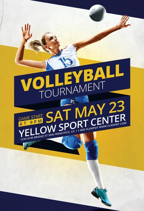 Volleyball Tournament Free Flyer Template Https Sportflyertemplates Com Volleyball Tourn In 2020 Free Psd Flyer Templates Psd Flyer Templates Volleyball Tournaments